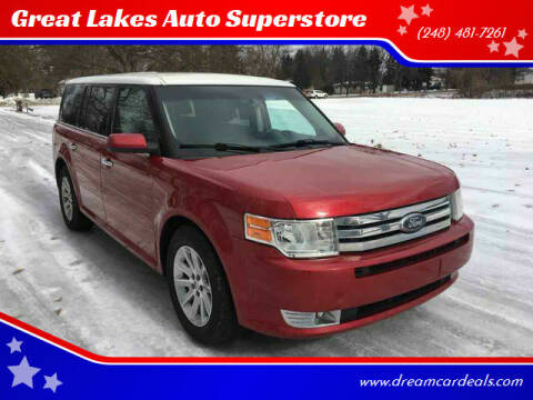 2010 Ford Flex for sale at Great Lakes Auto Superstore in Waterford Township MI