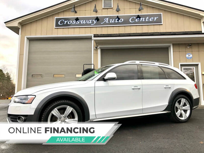 2016 Audi Allroad for sale at CROSSWAY AUTO CENTER in East Barre VT