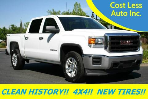 2014 GMC Sierra 1500 for sale at Cost Less Auto Inc. in Rocklin CA