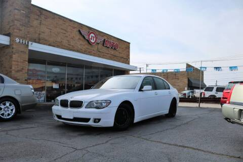 2007 BMW 7 Series for sale at JT AUTO in Parma OH