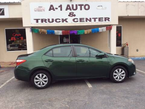 2016 Toyota Corolla for sale at A-1 AUTO AND TRUCK CENTER in Memphis TN