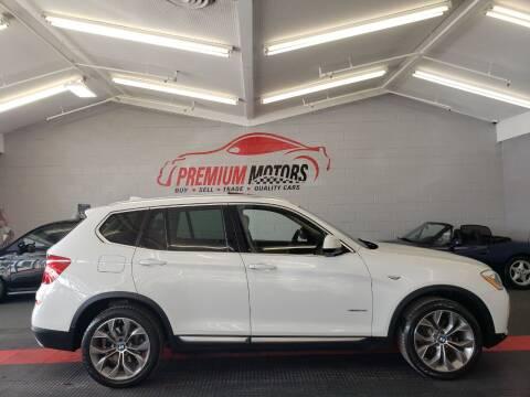 2015 BMW X3 for sale at Premium Motors in Villa Park IL