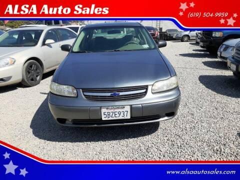 2003 Chevrolet Malibu for sale at ALSA Auto Sales in El Cajon CA