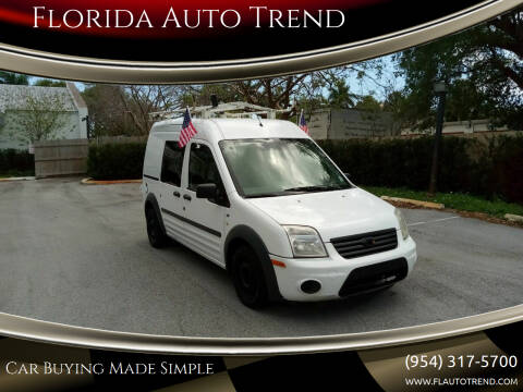 2011 Ford Transit Connect for sale at Florida Auto Trend in Plantation FL