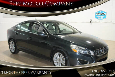 2013 Volvo S60 for sale at Epic Motor Company in Chantilly VA