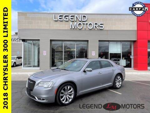 2018 Chrysler 300 for sale at Legend Motors of Waterford in Waterford MI