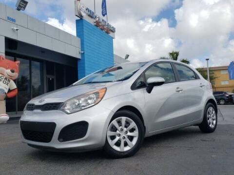 2012 Kia Rio 5-Door for sale at Tech Auto Sales in Hialeah FL
