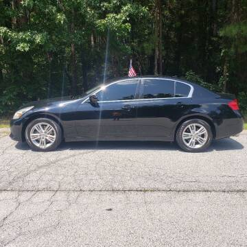 2013 Infiniti G37 Sedan for sale at MATRIXX AUTO GROUP in Union City GA