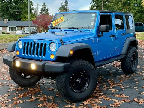 2010 Jeep Wrangler Unlimited for sale at West Coast Auto Works in Edmonds WA