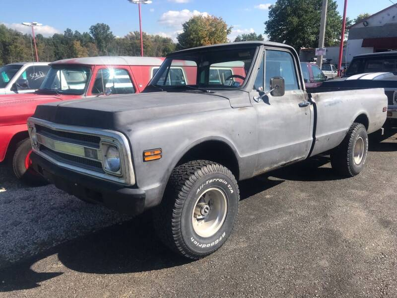 1970 Chevrolet C/K 10 Series for sale at FIREBALL MOTORS LLC in Lowellville OH