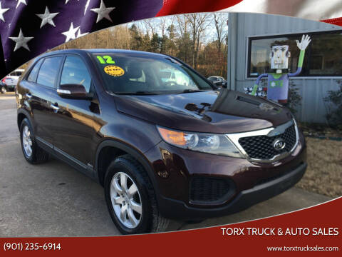 2012 Kia Sorento for sale at Torx Truck & Auto Sales in Eads TN