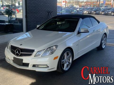 2012 Mercedes-Benz E-Class for sale at Carmel Motors in Indianapolis IN
