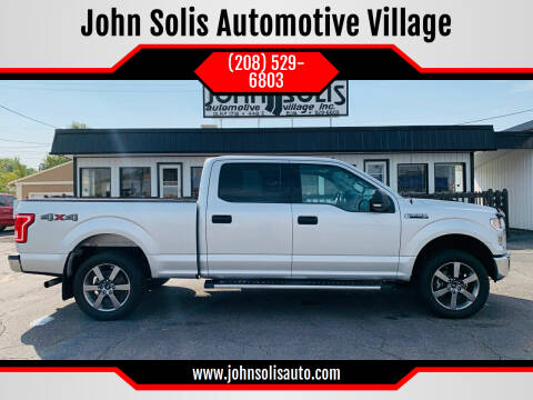 2017 Ford F-150 for sale at John Solis Automotive Village in Idaho Falls ID