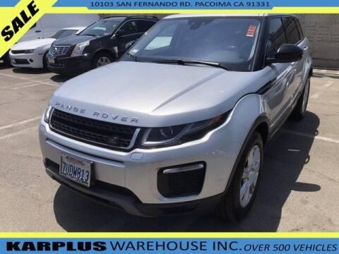 2016 Land Rover Range Rover Evoque for sale at Karplus Warehouse in Pacoima CA