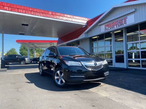 2016 Acura MDX for sale at Furrst Class Cars LLC in Charlotte NC