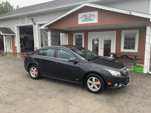 2014 Chevrolet Cruze for sale at M&A Auto in Newport VT
