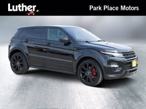 2014 Land Rover Range Rover Evoque for sale at Park Place Motor Cars in Rochester MN