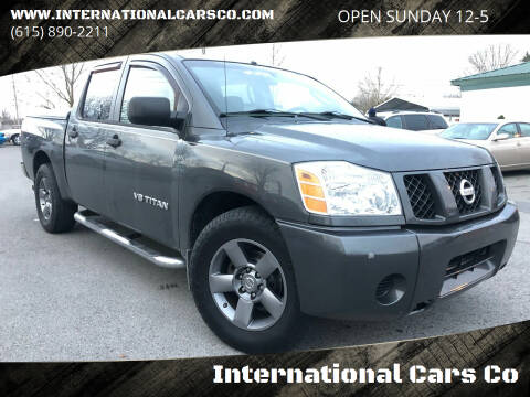 2005 Nissan Titan for sale at International Cars Co in Murfreesboro TN