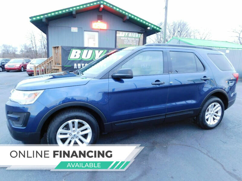 2016 Ford Explorer for sale at Buy Right Auto Sales Inc in Fort Wayne IN