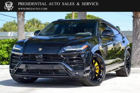 2020 Lamborghini Urus for sale at Presidential Auto  Sales & Service in Delray Beach FL