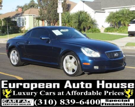 2005 Lexus SC 430 for sale at European Auto House in Los Angeles CA