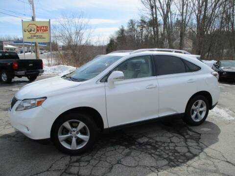 2010 Lexus RX 350 for sale at AUTO STOP INC. in Pelham NH