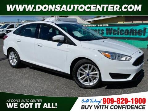 2016 Ford Focus for sale at Dons Auto Center in Fontana CA