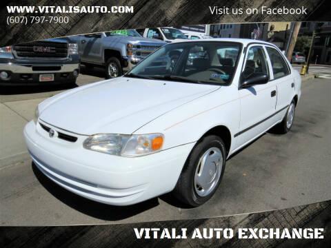 2000 Toyota Corolla for sale at VITALI AUTO EXCHANGE in Johnson City NY