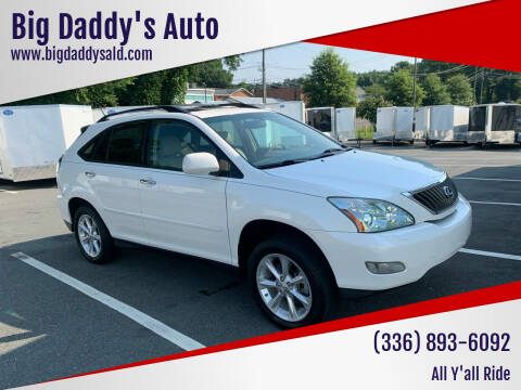 2008 Lexus RX 350 for sale at Big Daddy's Auto in Winston-Salem NC