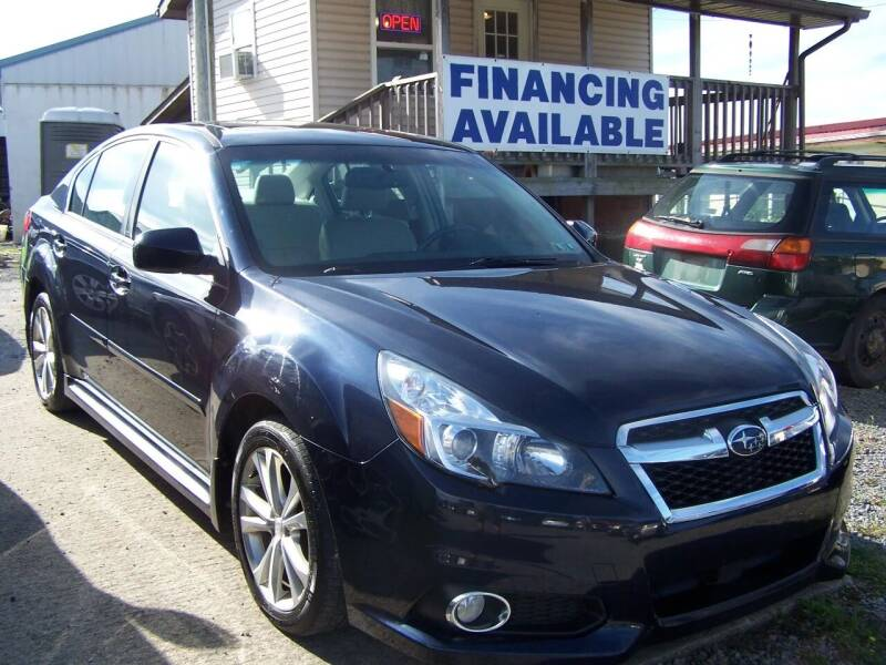 2013 Subaru Legacy for sale at B & J Auto Sales in Tunnelton WV