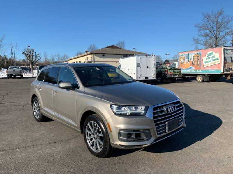 2017 Audi Q7 for sale at Interstate Fleet Inc. Auto Sales in Colmar PA