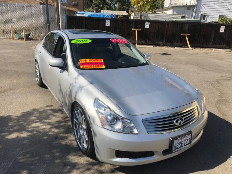 2008 Infiniti G35 for sale at Automotion in Roseville CA
