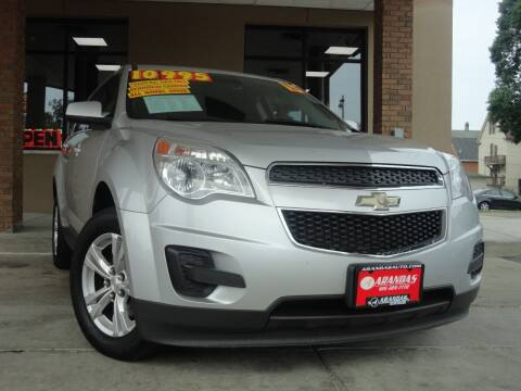2015 Chevrolet Equinox for sale at Arandas Auto Sales in Milwaukee WI