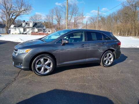 2014 Toyota Venza for sale at Depue Auto Sales Inc in Paw Paw MI