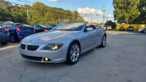 2006 BMW 6 Series for sale at DADA AUTO INC in Monroe NC