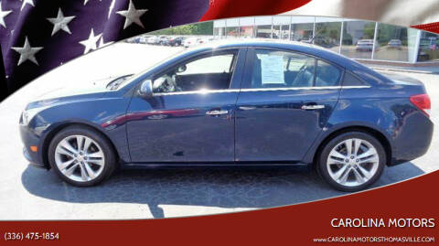 2011 Chevrolet Cruze for sale at CAROLINA MOTORS in Thomasville NC
