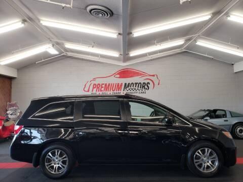 2011 Honda Odyssey for sale at Premium Motors in Villa Park IL