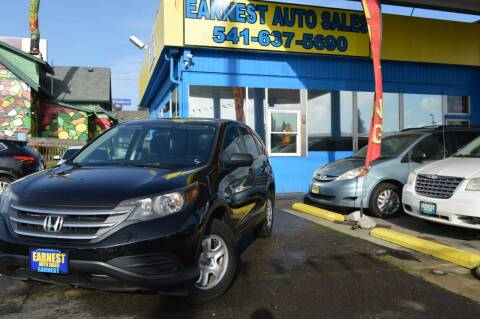 2013 Honda CR-V for sale at Earnest Auto Sales in Roseburg OR