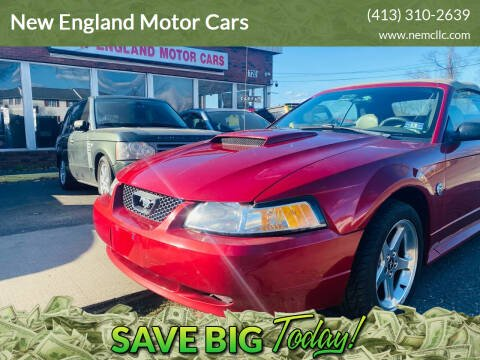 2004 Ford Mustang for sale at New England Motor Cars in Springfield MA