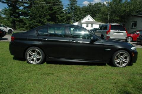 2012 BMW 5 Series for sale at Bruce H Richardson Auto Sales in Windham NH