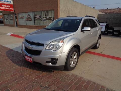 2014 Chevrolet Equinox for sale at Rediger Automotive in Milford NE