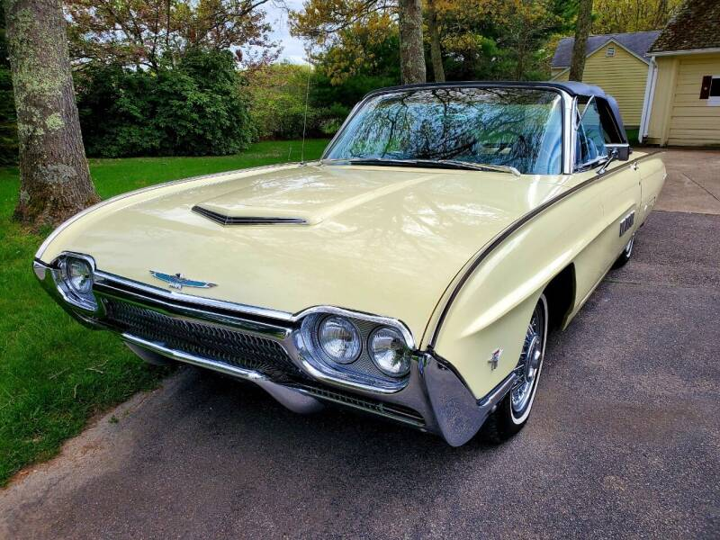 1963 Ford Thunderbird for sale at The Car Store in Milford MA