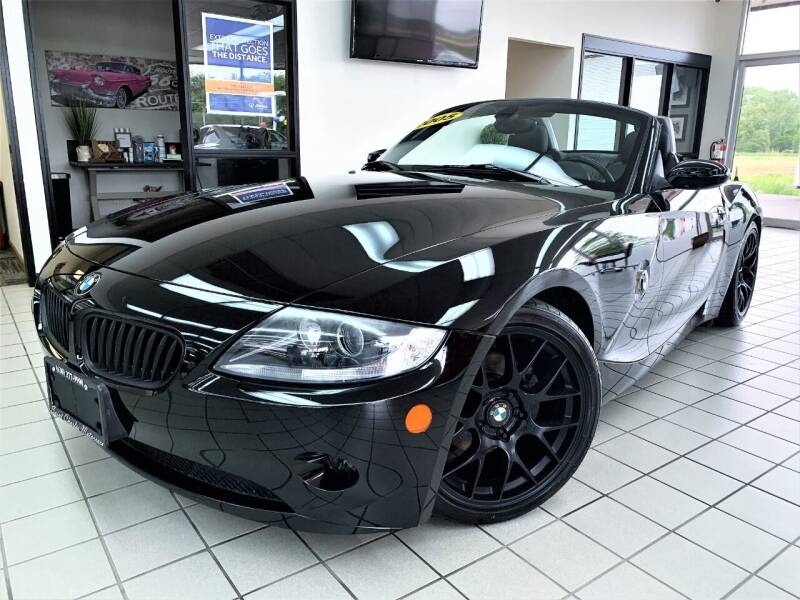 2005 BMW Z4 for sale at SAINT CHARLES MOTORCARS in Saint Charles IL