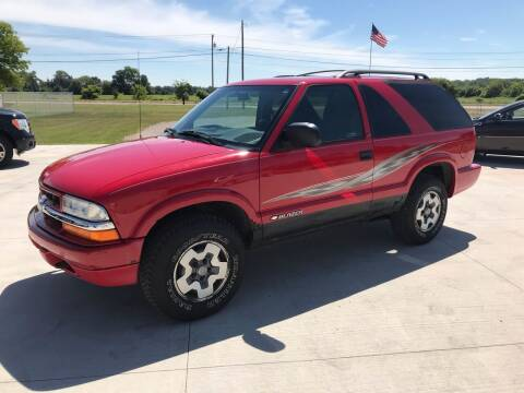 1999 Chevrolet Blazer for sale at The Auto Depot in Mount Morris MI