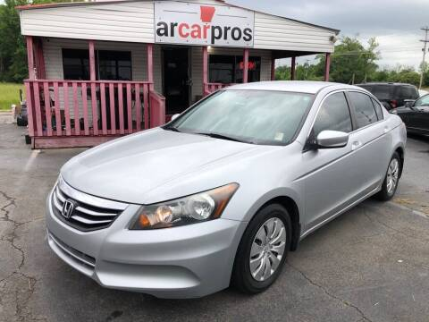 2012 Honda Accord for sale at Arkansas Car Pros in Cabot AR