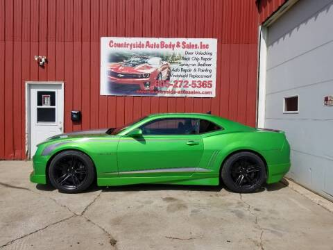 2011 Chevrolet Camaro for sale at Countryside Auto Body & Sales, Inc in Gary SD