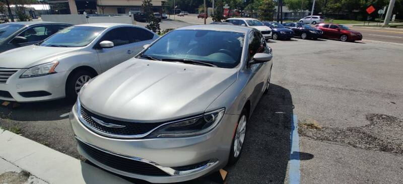 2015 Chrysler 200 for sale at Max Auto Sales in Sanford FL
