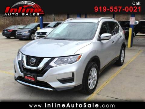 2020 Nissan Rogue for sale at Inline Auto Sales in Fuquay Varina NC