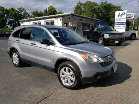 2007 Honda CR-V for sale at Highlands Auto Gallery in Braintree MA