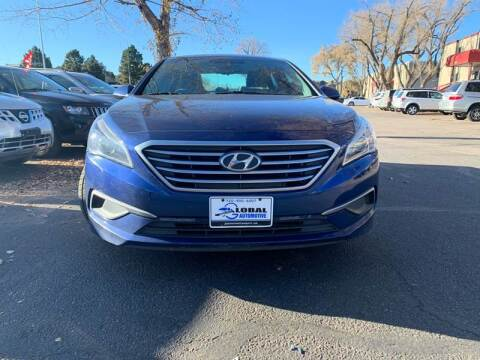 2016 Hyundai Sonata for sale at Global Automotive Imports of Denver in Denver CO